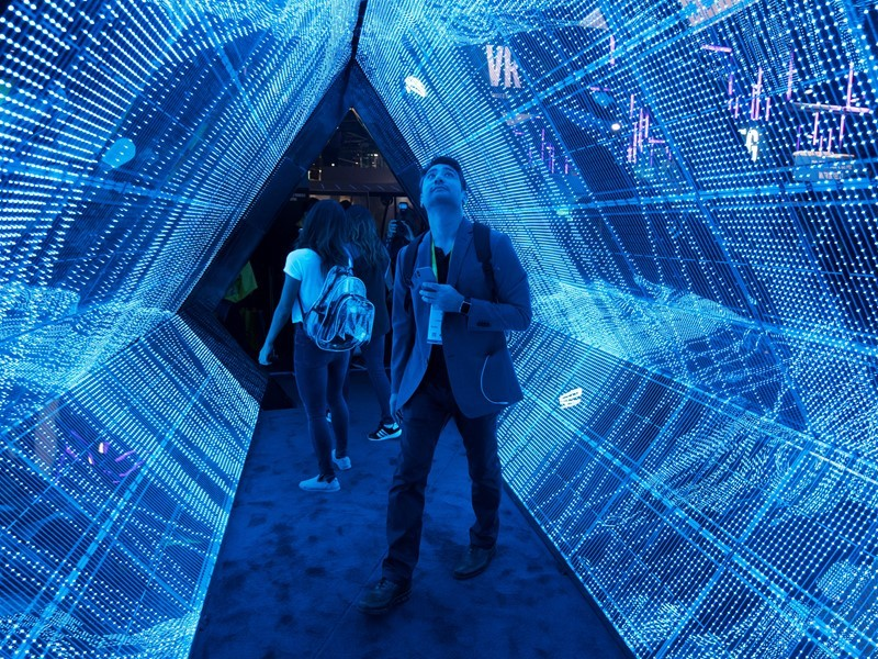 New Content: CES Opens in Las Vegas with Record-Breaking Crowd