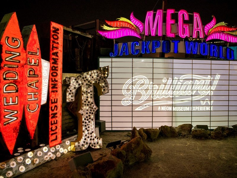 'Brilliant!' at Neon Museum Brings Las Vegas' Vintage Signs Back to Life