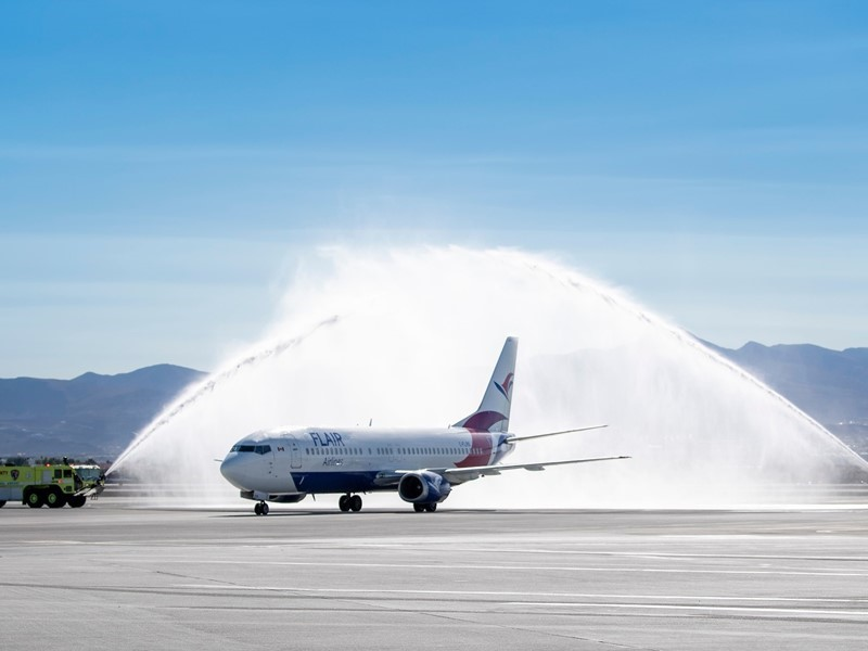 Flair Airlines Launches New Direct Service from Edmonton to Las Vegas