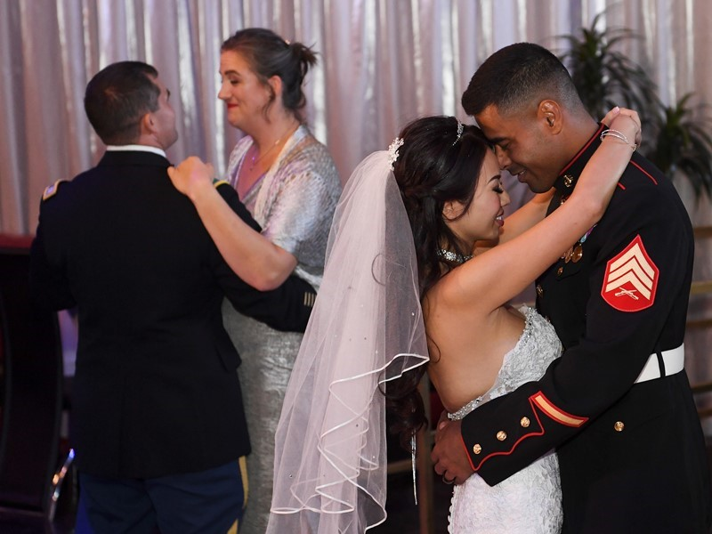 Las Vegas Marries the Military