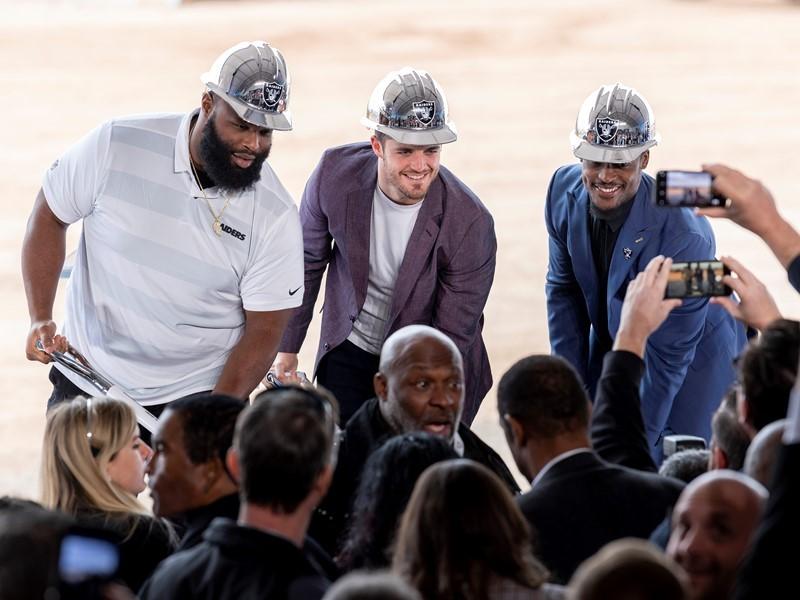 Raiders Break Ground on New Facility