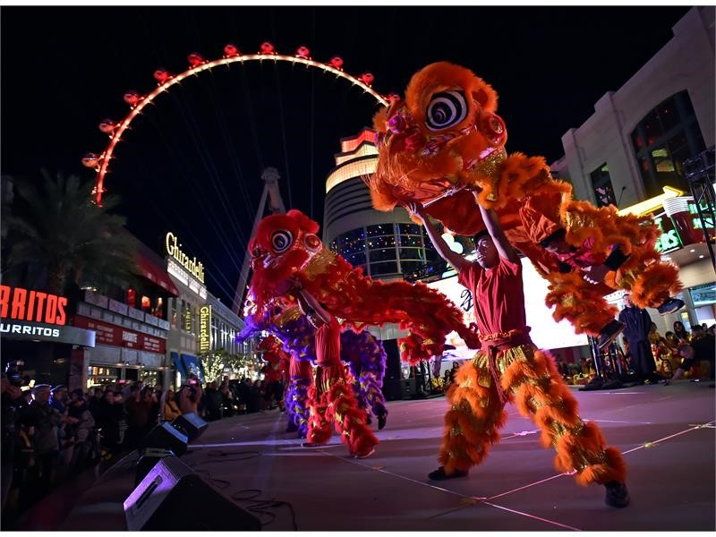 Chinese New Year in Las Vegas 2019