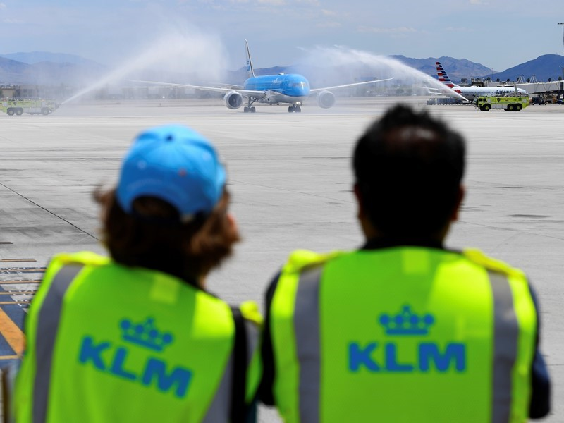 KLM Launches Direct Flights from Amsterdam to Las Vegas