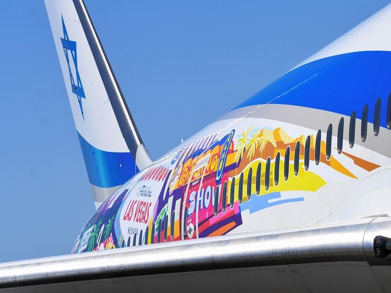 Las Vegas Celebrates First Flight from Tel Aviv