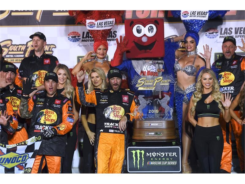 NASCAR Weekend Kicks Off in Las Vegas
