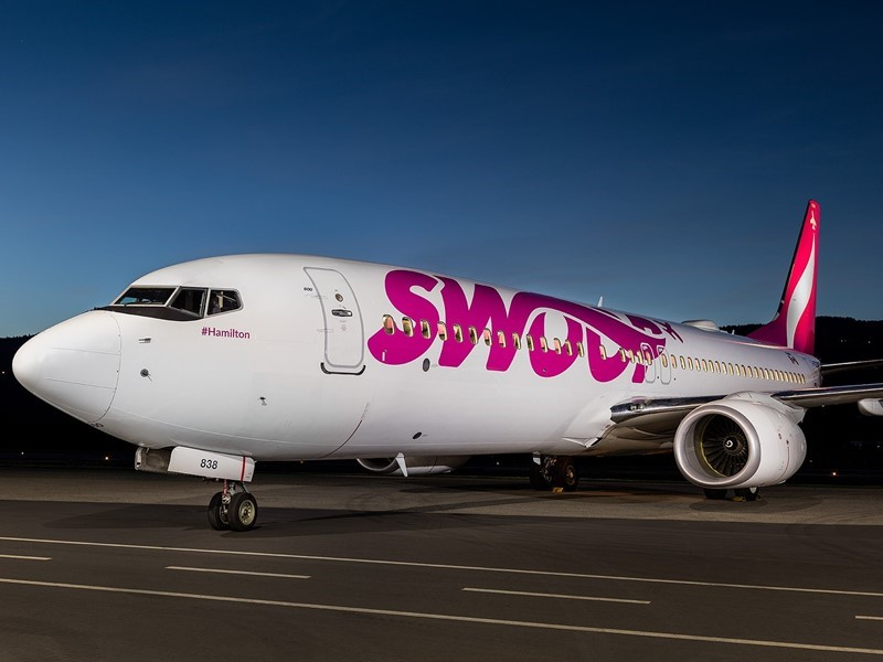 Swoop Adds London  (Ontario, Canada) to Vegas Route to its Expanding Network of Transborder Flights