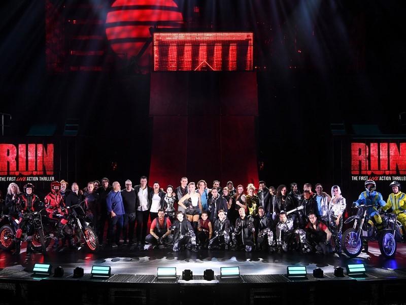 First Look at R.U.N by Cirque du Soleil in Las Vegas