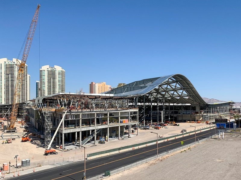Las Vegas Convention Center Expansion More Than 50% Complete
