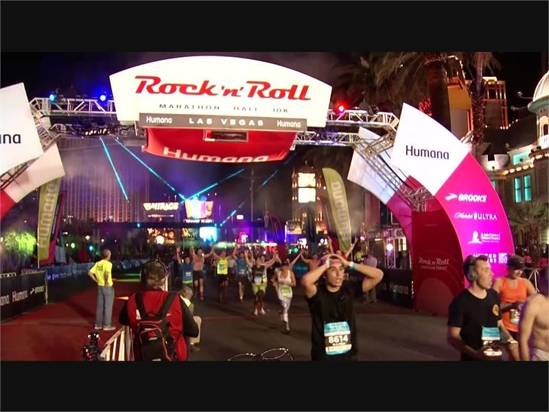 The 2019 Humana Rock 'n' Roll Marathon in Las Vegas