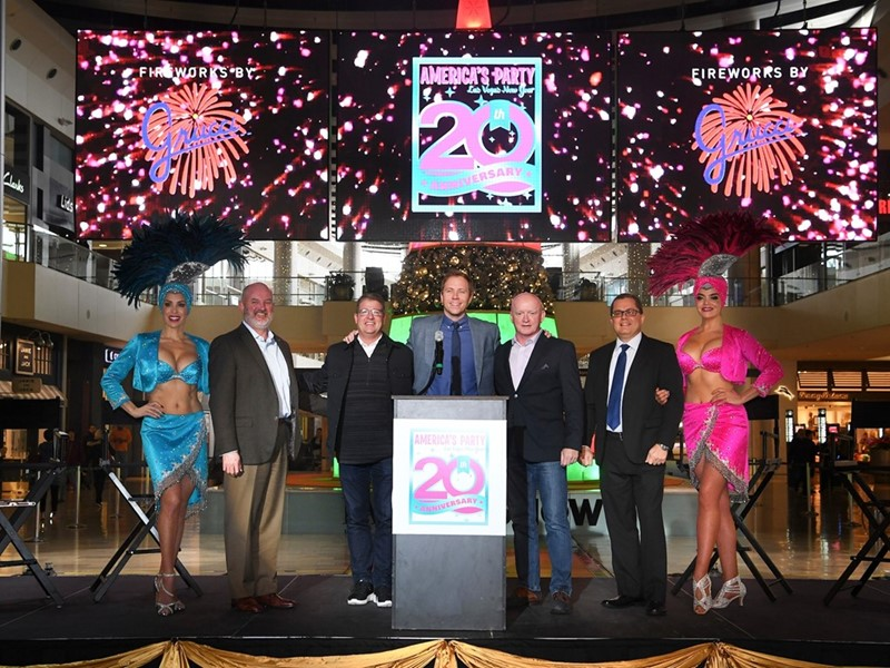 "Las Vegas Gears Up for ""America's Party 2020"" on New Year's Eve"