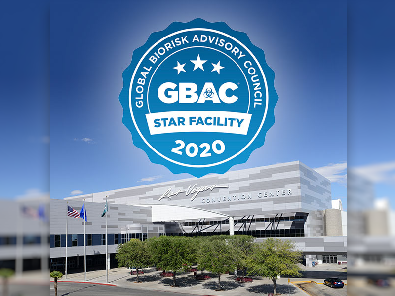 Las Vegas Convention Center Receives GBAC STAR Accreditation by World's Leading Cleaning Industry Tr