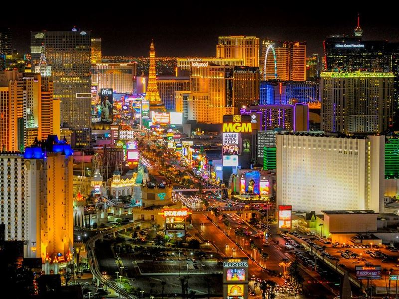 MEDIA ALERT: Las Vegas Tells 2020 to Kiss Off