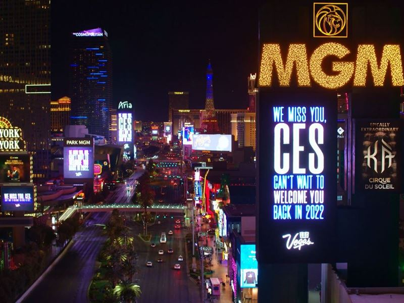 Las Vegas Supports CES with Marquee Takeover