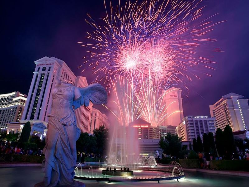 Las Vegas Lights up with Fourth of July Events