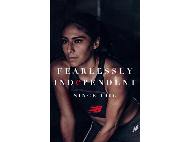"NEW BALANCE DEBUTS ""FEARLESSLY INDEPENDENT SINCE 1906"" GLOBAL BRAND PLATFORM THAT REFLECTS ITS HERIT"