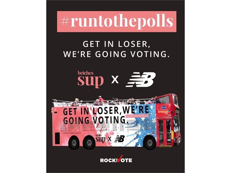 #RUNTOTHEPOLLS ENCOURAGES BETCHES TO EXERCISE THEIR RIGHT TO VOTE