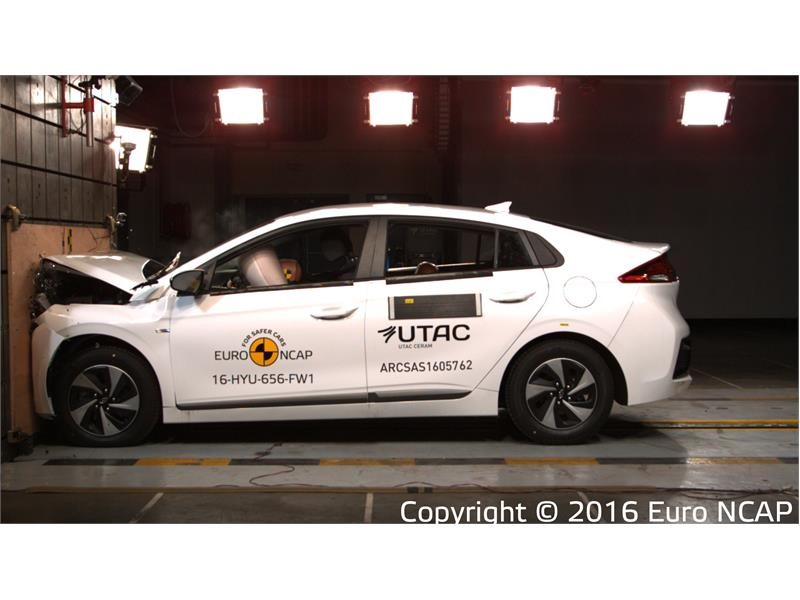 Latest Euro NCAP safety ratings for 2016