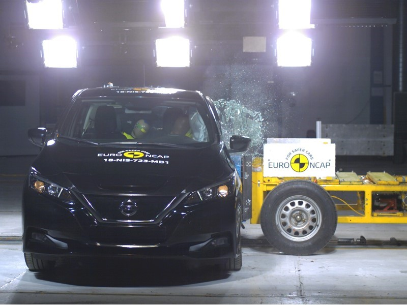 New LEAF charging ahead with 5 star result in toughest safety tests to date