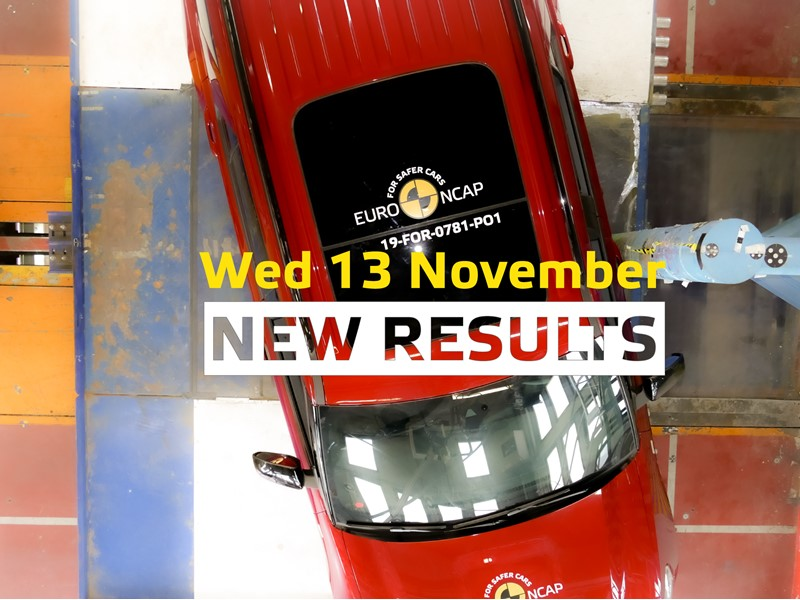 Euro NCAP to launch seventh round of 2019 safety results