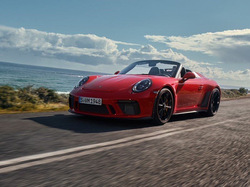 New 911 Speedster goes into production – 510 PS and limited edition