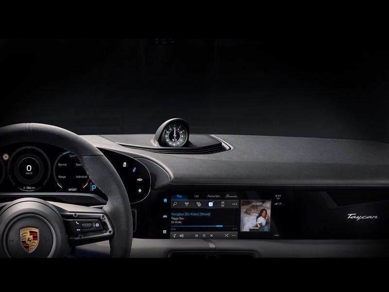 Porsche Taycan adds Apple Music built-in