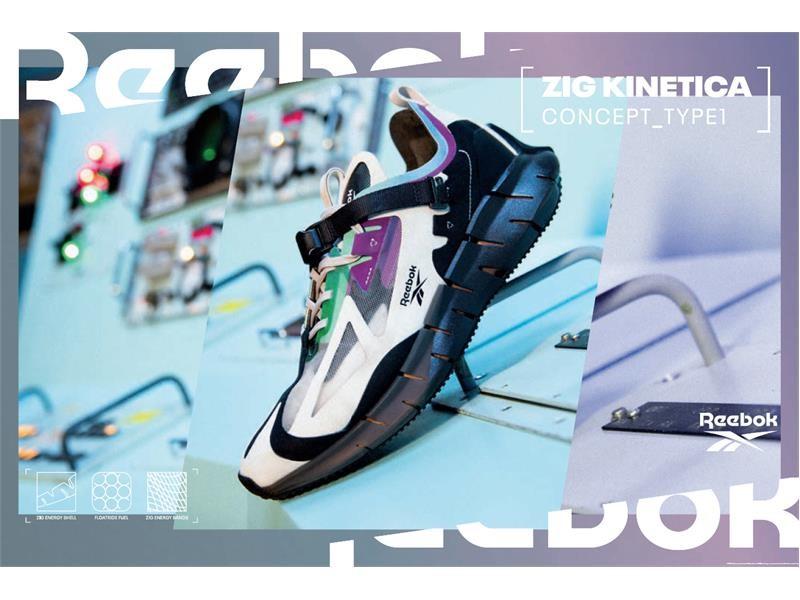 """パフォーマンス力と斬新なデザイン性を兼ね備えたランニングシューズ「ZIG」を英デザイナー""""Ian Paley""""とのコラボレーションによりファッションアイテムに昇華 「ZIG KINETICA CONC"""