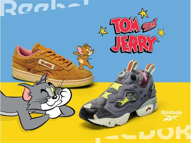 2020年は子(ねずみ)年!全世界で愛されるねずみのキャラクターが登場、不朽の名作カートゥーン「トムとジェリー」とのコラボレーションコレクション「Reebok × Tom & Jerry」 2020年