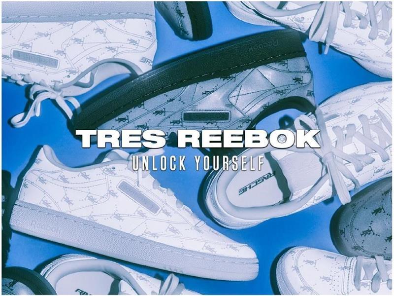 "LA 発、新生代ジェンダーレス·ストリートウエア·ブランド "" Très Rasché""とコラボレーション 「 Très Rasché x Reebok Club C 85」 2020年 1 月 17"