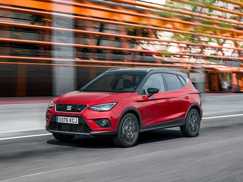 The new SEAT Arona receives the Red Dot Award: Product Design 2018