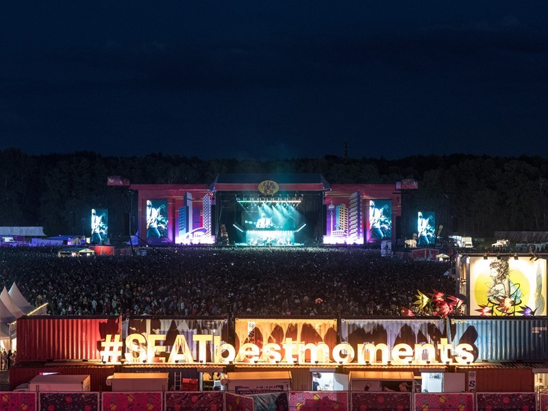 SEAT commits to music with Lollapalooza Paris and Berlin