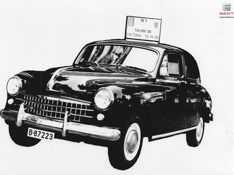 The SEAT 1400: the first SEAT vehicle celebrates its 65th anniversary