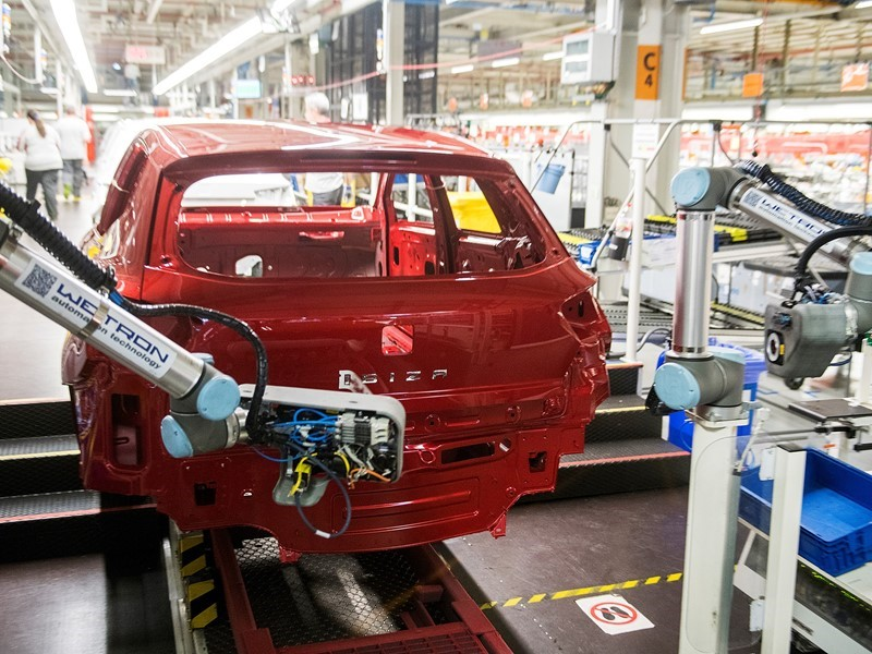 The collaborative robot that gives SEAT cars their name