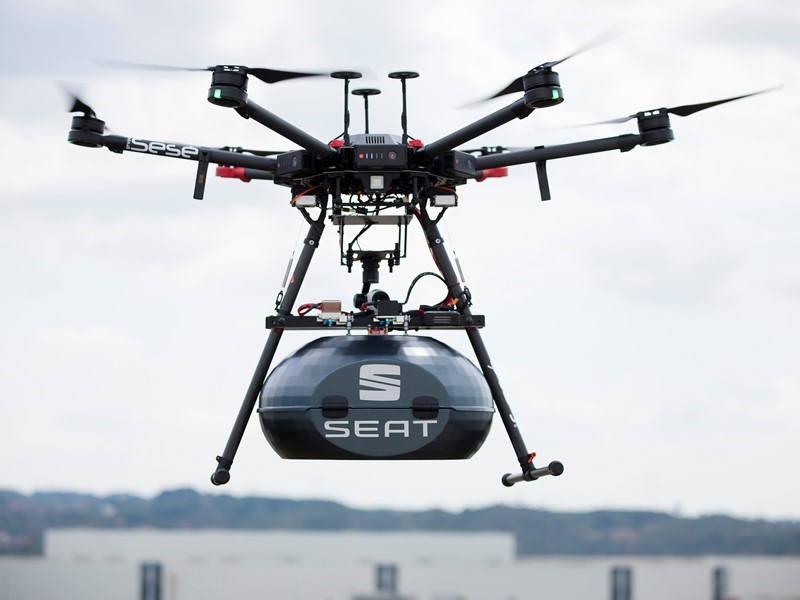 Drones: the steering wheel that comes from the sky