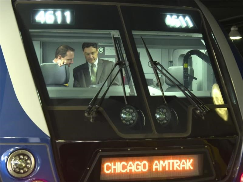 New Locomotives Serving Amtrak Customers on  State-sponsored Trains in the Midwest