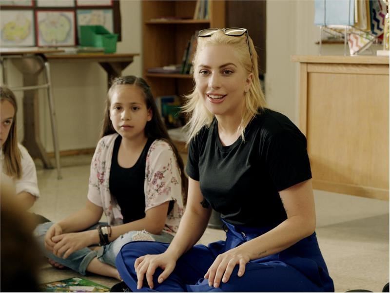 Lady Gaga Stars in New PSA to Support Education and Inspire Positive Classroom Experiences Nationwid