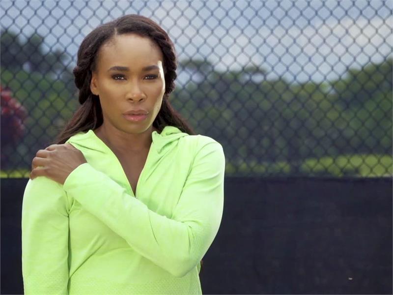 "World Tennis Champion Venus Williams is ""Back on Top"""
