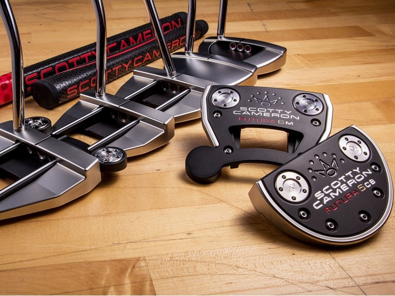 Titleist Introduces New Scotty Cameron Futura Putters