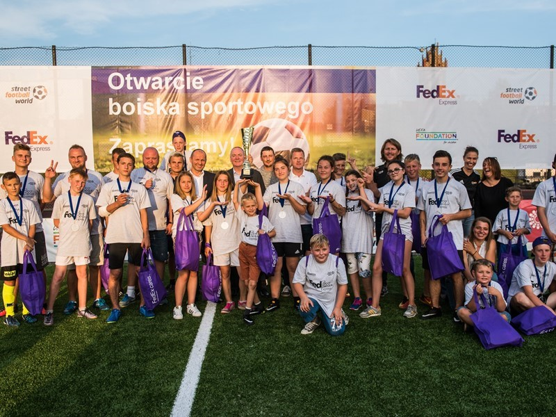 UEFA Foundation Welcomes Continued Collaboration with FedEx in Support of 'Football For Good' Moveme