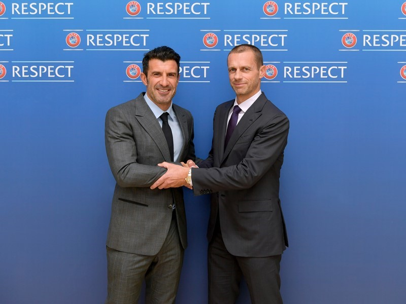 Luís Figo joins UEFA as Football Advisor