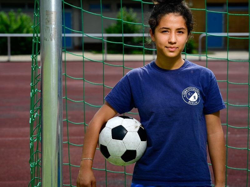 'Everyone should get to play': Berlin footballer Zehra supports UEFA's #EqualGame campaign
