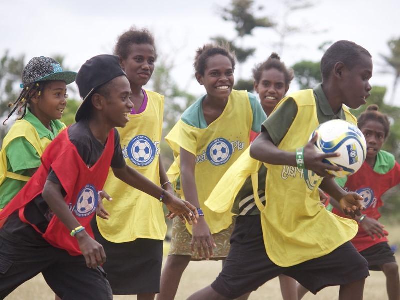 Just Play emergency programme set up in Vanuatu