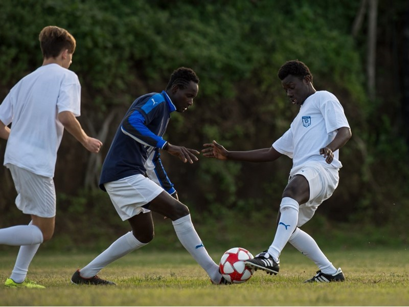 """Football is my life"" – Abubacarr Konta, a young migrant from The Gambia, who is building a new life"