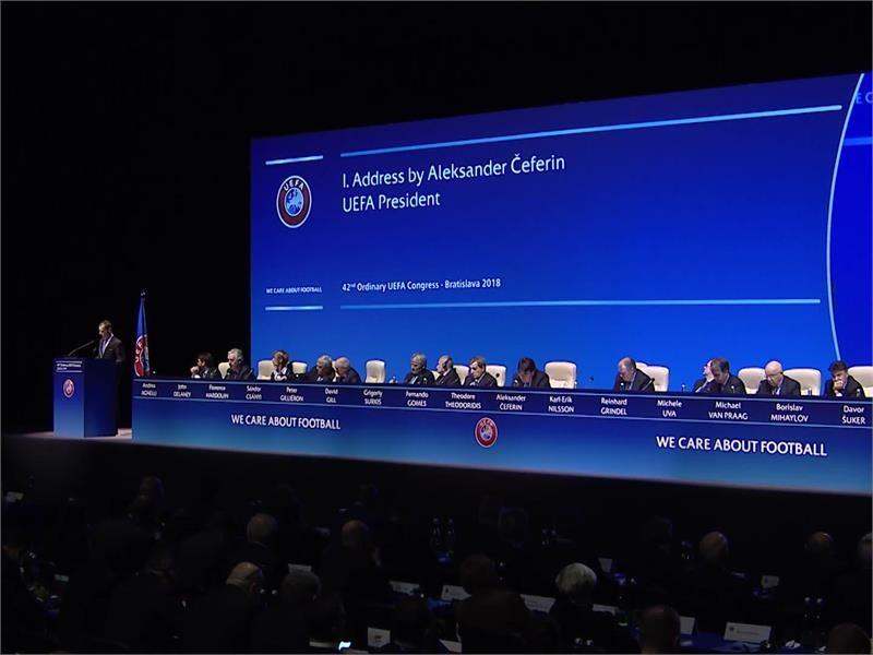 Record €775.5m for UEFA member associations via HatTrick V
