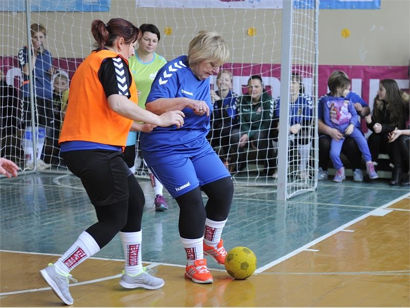 'Football connects our family across three female generations'