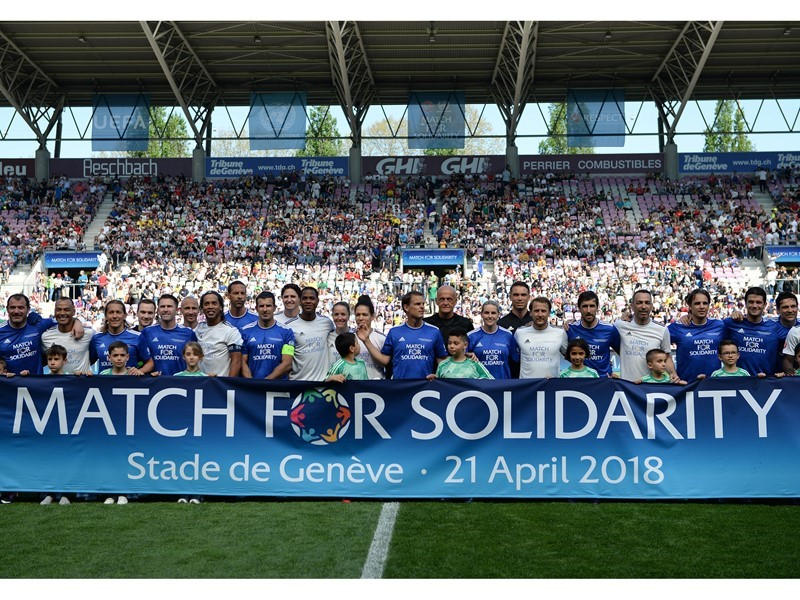 Match for Solidarity helps disabled children around the globe