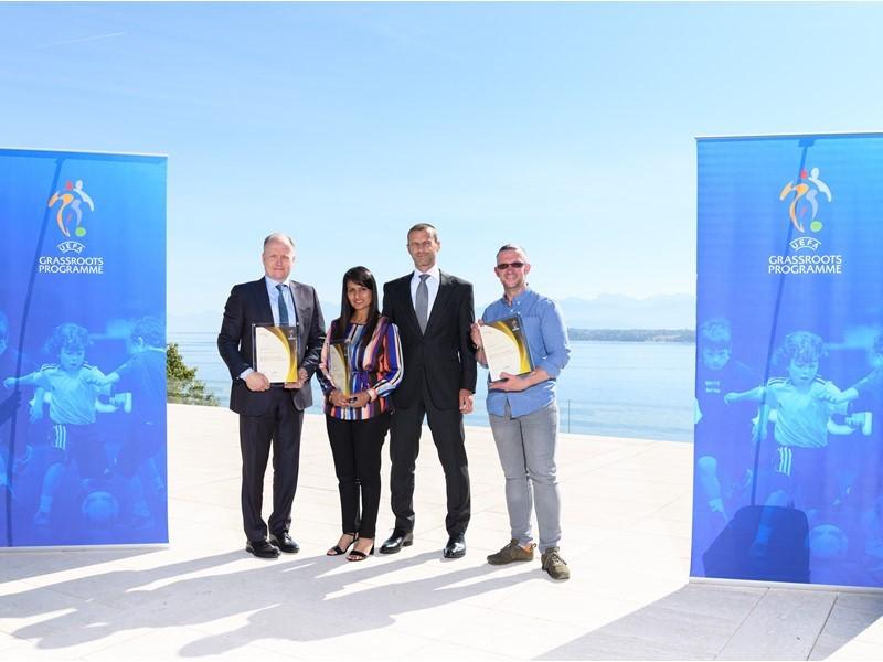 2018 UEFA Grassroots Awards Winners