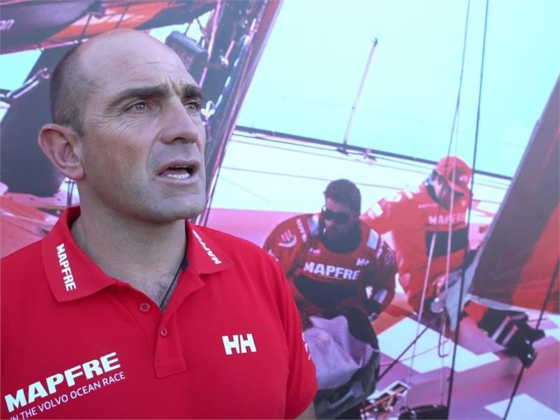 Pre-Leg 1 start interviews with MAPFRE (ENG, ESP, CAT, BAS)