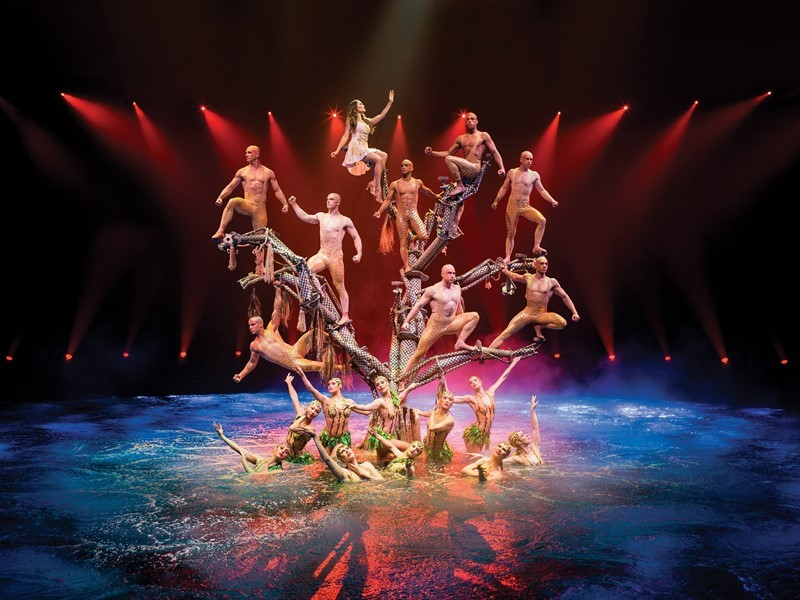 Award-Winning Aquatic Spectacular Presented Exclusively at Wynn Las Vegas Reimaged with All-New Scor