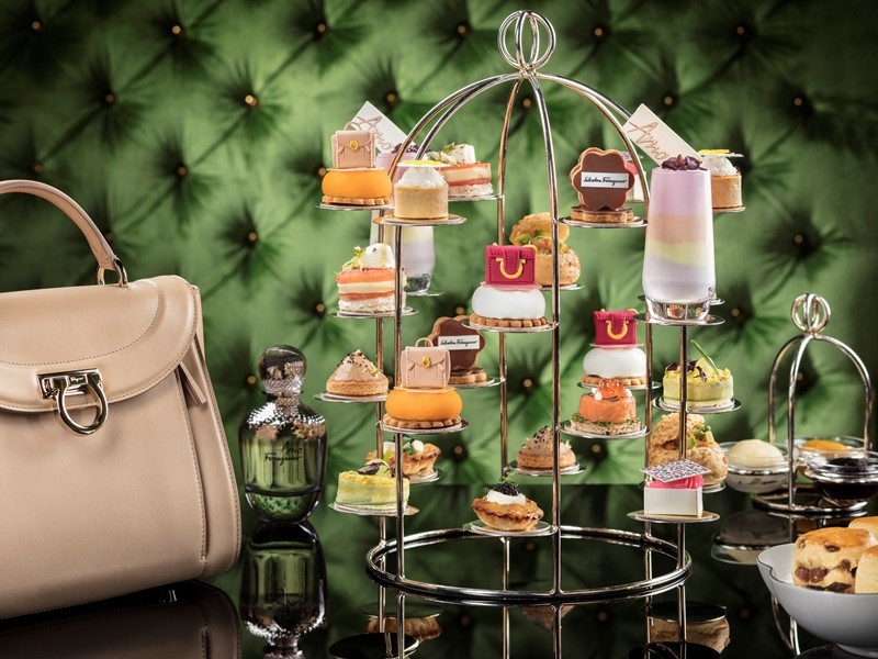 Wynn Palace Partners with Salvatore Ferragamo to Launch an Exclusive Weekend Afternoon Tea