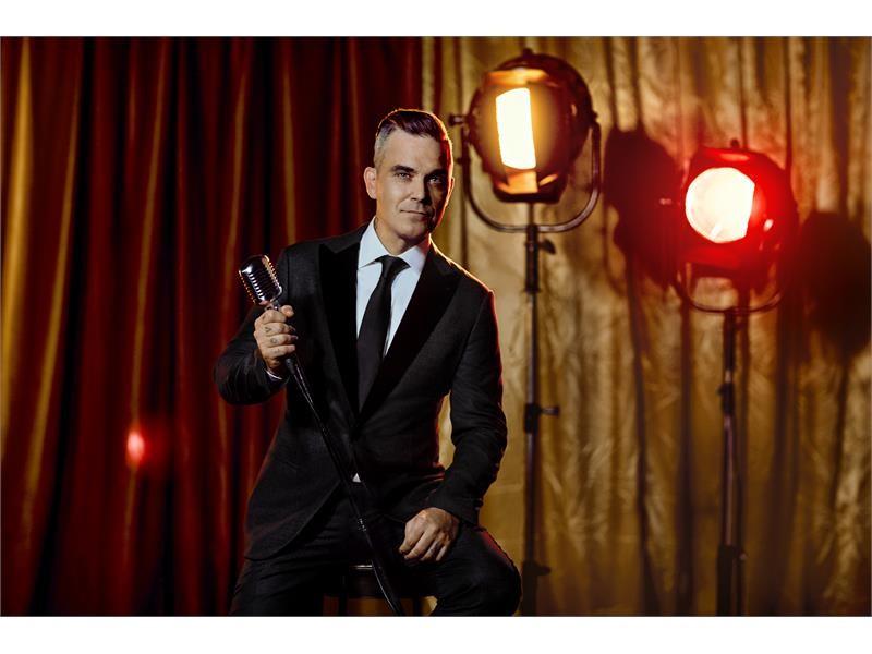 "Music Icon Robbie Williams Makes Wynn Las Vegas Debut with ""Robbie Williams Live In Las Vegas"" in Ma"